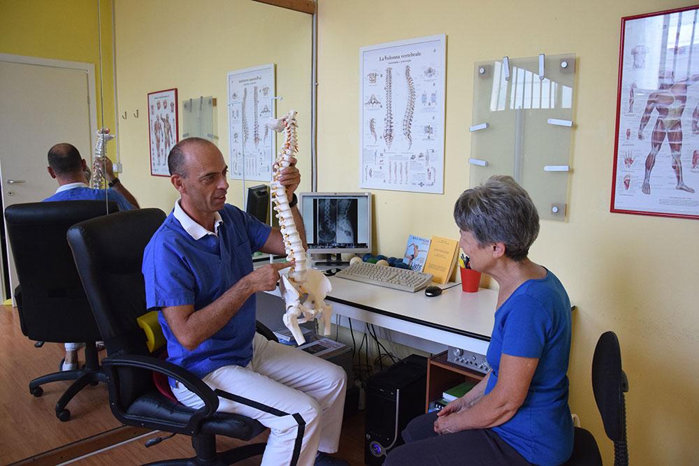 Laboratorio della schiena Oleggio Benefit